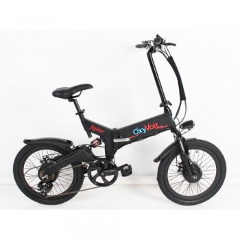 Электровелосипед Oxyvolt Fighter Double 2 Черный