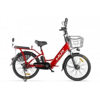 Электровелосипед Green City e-ALFA new Красный