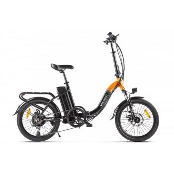 Электровелосипед Volteco FLEX Черно-оранжевый