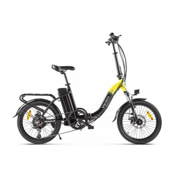Электровелосипед Volteco FLEX Черно-желтый