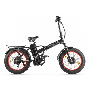 Электровелосипед VOLTECO BAD DUAL NEW Черно-красный
